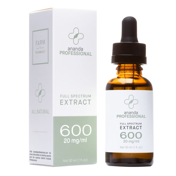 600 mg Extract Ananda 1