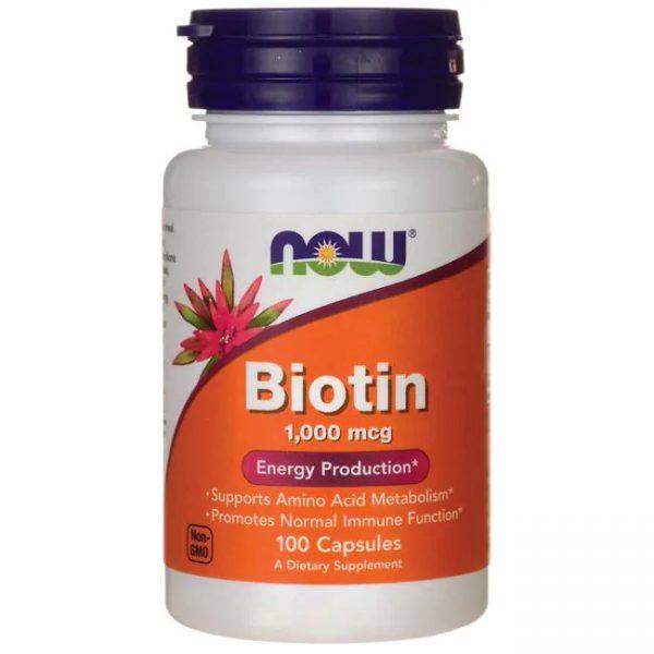 Now Biotin 1mg 1