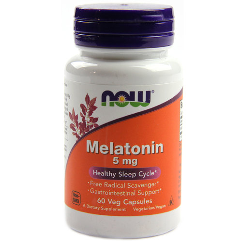 Now Melatonin 5mg 1